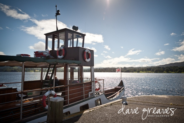 Windermere Lake Cruise wedding