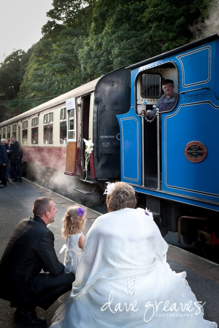Haverthwaite Railway Wedding