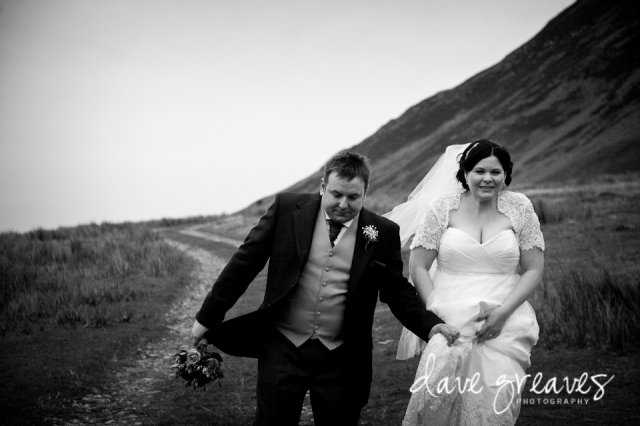 Crummock Water Bride and Groom