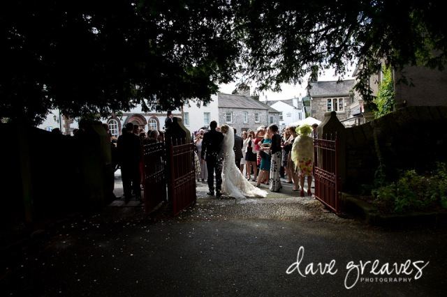 Cartmel Priory Wedding