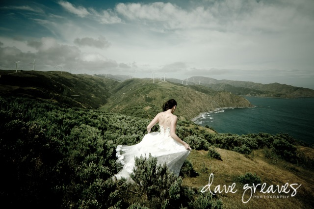 Trash the Dress shoot in New Zealand