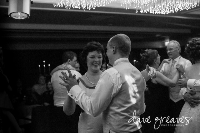 Mother of the Bride dances with the Groom